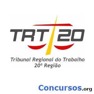 Concurso TRT 20 Região Sergipe